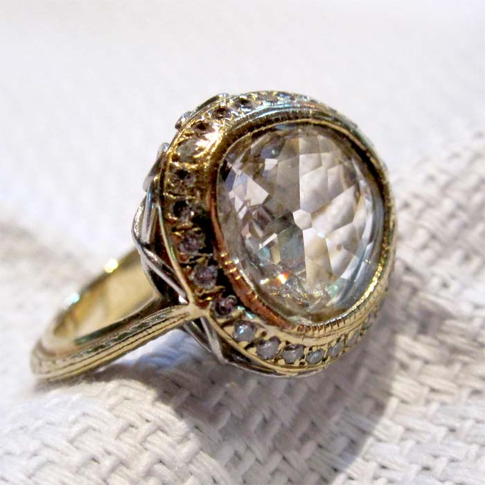 Gregory David Coster  Jewels Designer  Antique Rose Cut. Dream Rings. Perfect Engagement Rings. Tapered Baguette Rings. Personalised Rings. Statement Wedding Rings. Extra Large Wedding Rings. Unconventional Wedding Rings. 12 Stone Rings